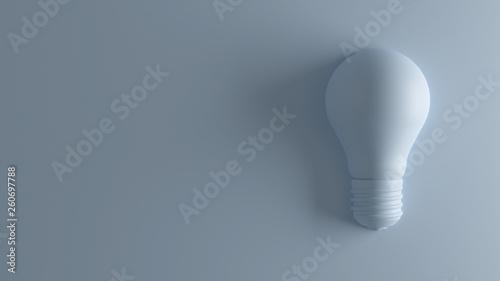 Fototapeta Bulb 3D Rendering obraz na płótnie