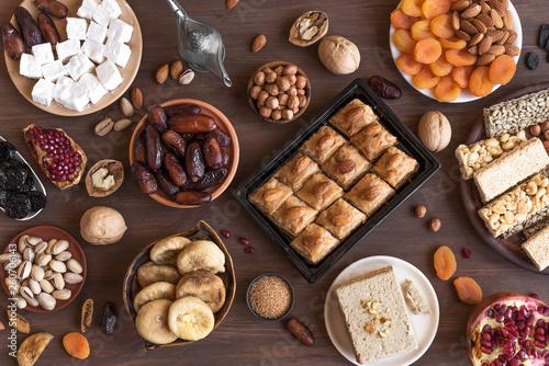 Photo Set of Arabic Sweets