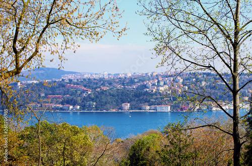Fotografia  Istanbul Bosphorus view from Emirgan