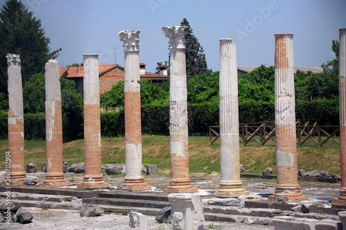 Fotografia  Italia, Friuli-Venezia Giulia, Aquileia, antica città romana.