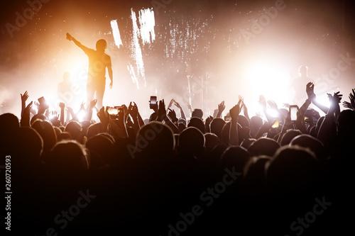 Valokuvatapetti Rock concert