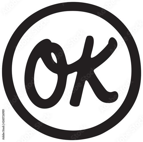 Photo Ok Symbol - Retro Ad Art Banner