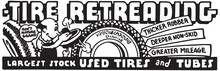 Tire Retreading  - Retro Ad Ar...