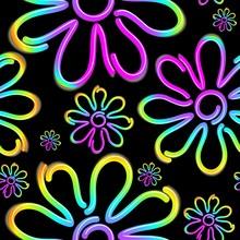 Daisy Spring Flower Psycnedeli...