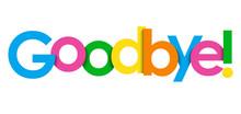 GOODBYE! Colorful Typography B...