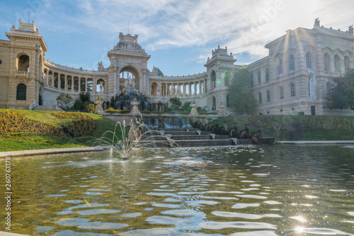 Palais et parc Longchamp à Marseille