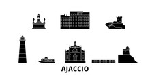 France, Ajaccio Flat Travel Sk...