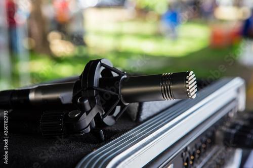 Fotografía  Microphone, Radio Station, Recording Studio, Studio Shot, Studio - Workplace