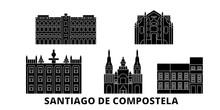 Spain, Santiago De Compostela ...