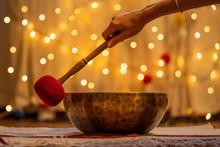 Handmade Hammered Tibetan Sing...