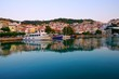 Skopelos town and harbour, Greece