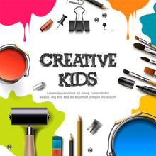 Kids Art Craft, Education, Cre...