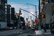 Bowery Street view of Chinatown in Lower Manhattan