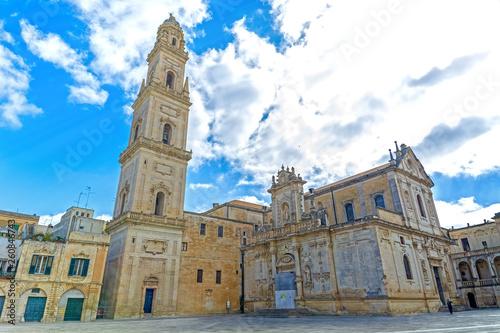 Obraz na plátně  Lecce, Puglia, Italy