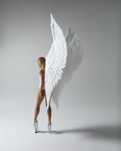 Angel Woman Posing