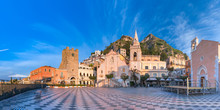 Piazza IX Aprile, Taormina, Si...