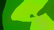 Leinwanddruck Bild - Green Yellow Leaf Background