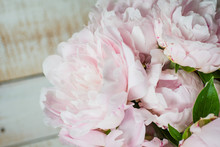 Peonies Bouquet- Pink White