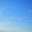beautiful clear blue sky with fluffy white cloud in the morning day good weather