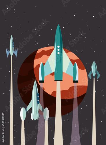rockets space exploration