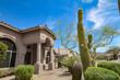 canvas print picture - Scottsdale Arizona southwest style home