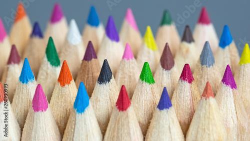 Brilliante Farben - Farbtöne - bunte Vielfalt Fototapete