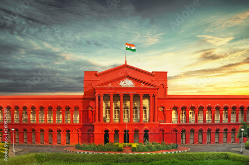 High Court Of Karnataka.Bangalore,INDIA Tablou Canvas