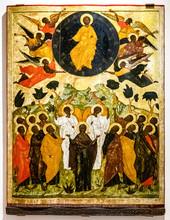 Antique Russian Orthodox Icon,...