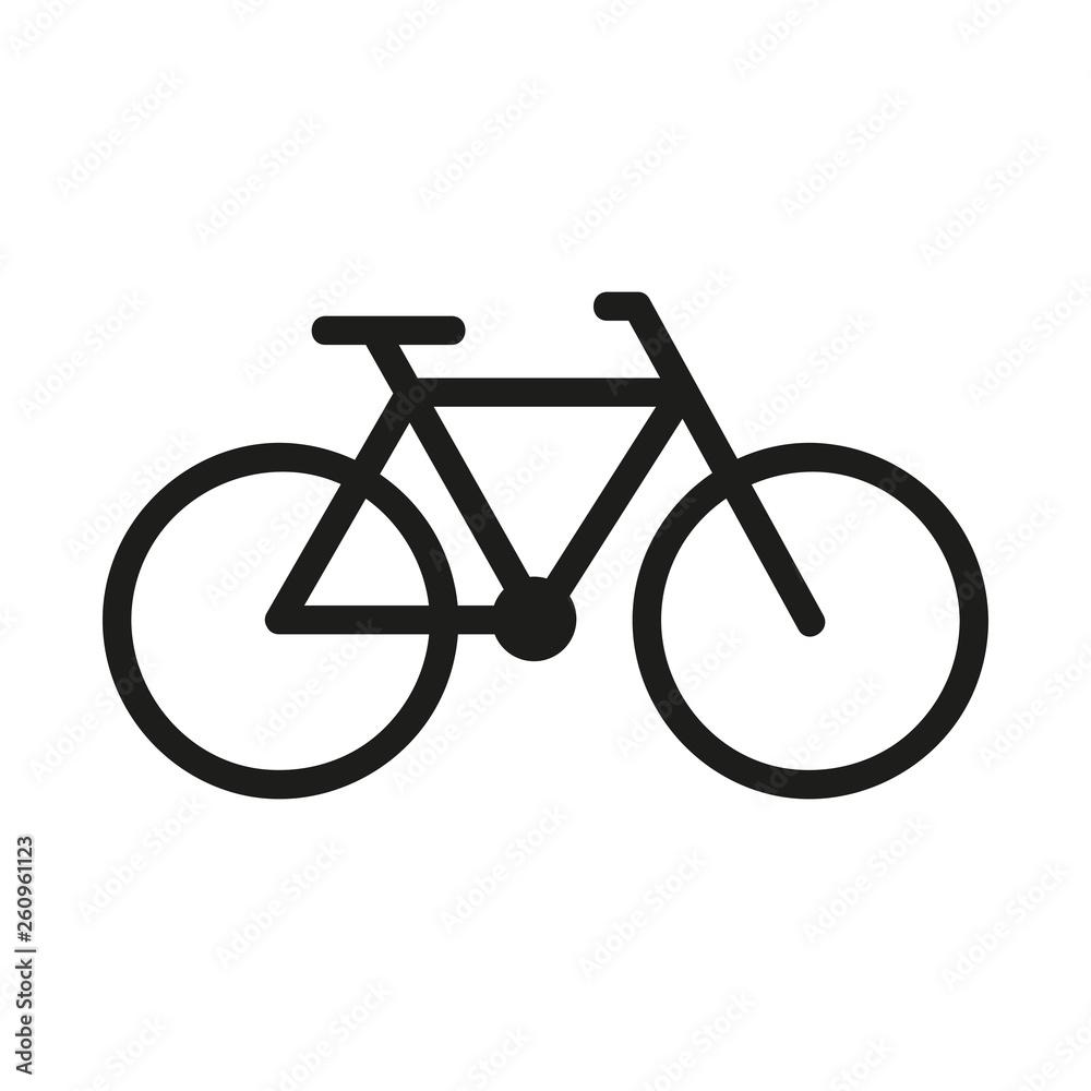 Fototapeta rower logo wektor