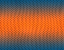 Blue And Orange Gradient Snake Skin Pattern, Bubble Scale