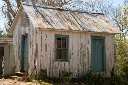 Foto  Weathered Shed