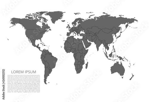 Fotografia  World map