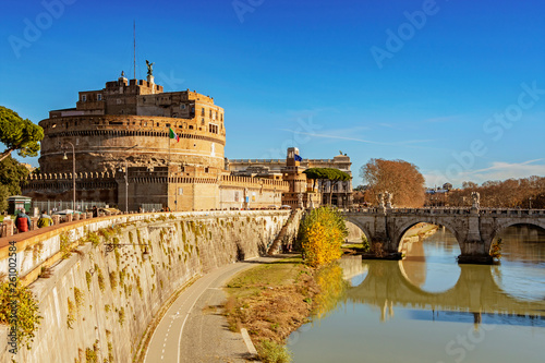 Foto  Castle of Saint Angel in Rome