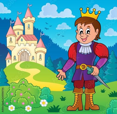 Foto op Canvas Voor kinderen Prince theme image 8