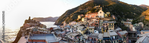 Photographie  Vernazza, village on the eastern Ligurian coast