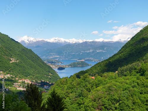 Photo View of Lake Como and Comacina Island