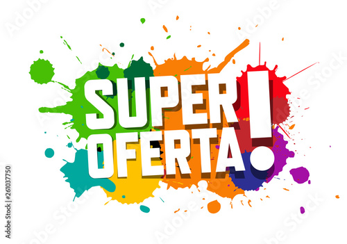 Super oferta - Buy this stock vector and explore similar vectors at Adobe  Stock | Adobe Stock