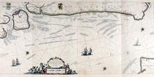 Ancient Navigation Map.
