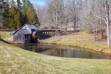 Winter View Of Mabry Mill, Loc...