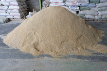 A Mixture Of Corn And Bran, For Animal Feed