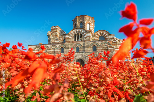 Church of Christ Pantocrator in Nessebar ancient city Canvas-taulu