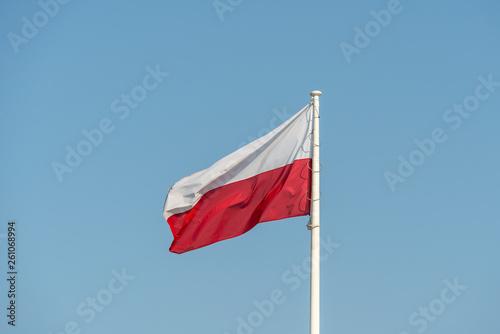 Wallpaper Mural Polish flag