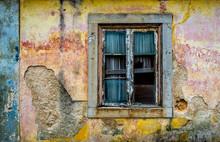 Beautiful Old Window And Wall