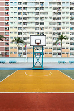 Basketball Courtyard