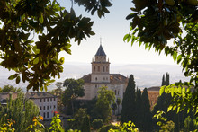 Scenic View Over City Of Granada