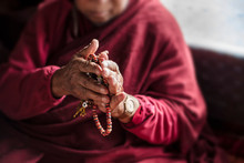 Buddhist Lama Holy Man Blessin...