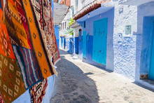 Chefchaouen, Morocco Blue City