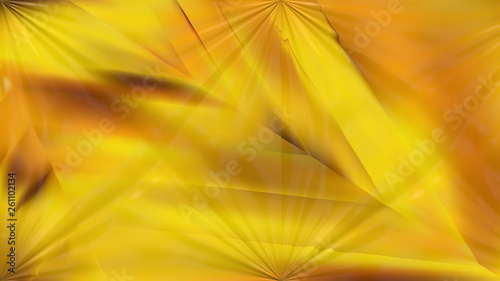 Shiny Orange Abstract Background Design