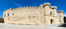 The Palace Of The Grand Masters In Rhodes Is Also Called The Castle Of Castello.