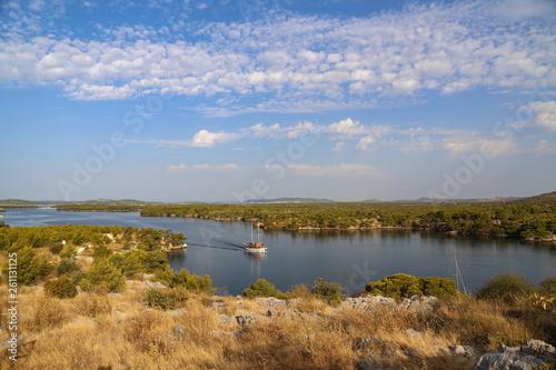 Fotografía  Channel of St. Anthony at Sibenik in Croatia